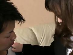 aiko hirose gives her boyfriend a ramrod