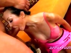busty oriental d like to fuck gagging doing a