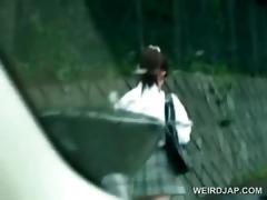 oriental schoolgirl kidnapped for coarse sex in
