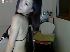 hawt korean strips on web camera