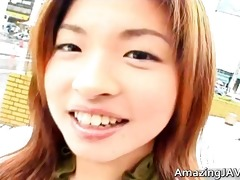 amazingly hawt japanese chick getting
