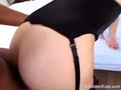 japanese sex bondman held down and drilled by