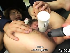 miki yoshii acquires her holes destroyed