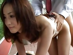 japanese av model in a urinate clip