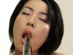unfathomable anal sex with bushy chinese playgirl