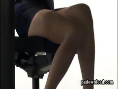 japan gal lalin girl butt clip | bawdy cleft board