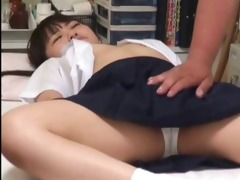 japanese schoolgirl (50+) drilled during medical
