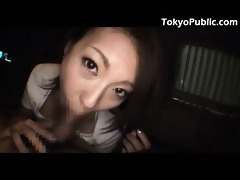 japan public sex - jizz flow in the car -