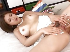 hot oriental gang team fuck scene