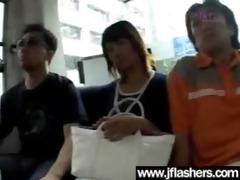 oriental girls flashing billibongs and getting