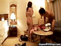 hawt legal age teenager oriental receives played