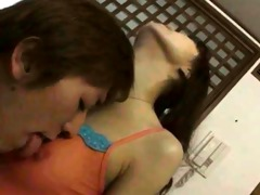 petite japanese floozy enjoys anal sex
