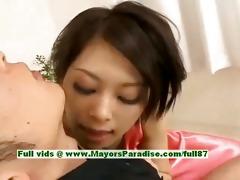 saki ootsuka blameless oriental cutie enjoys