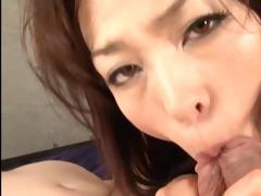red sexy japanese beauty sucks ramrods