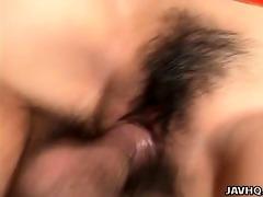 hiroko morita rides a hard penis uncensored