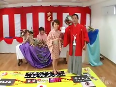 inexperienced japanese game show-by packmans