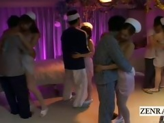 subtitle japanese nurses underware party humping