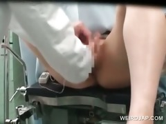 oriental cutie snatch vibed and toyed at the