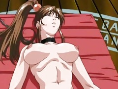hot oriental anime toons feature hawt busty babes