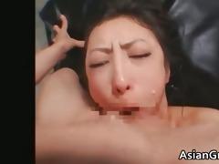 cute oriental hottie in slavery sex receives part9