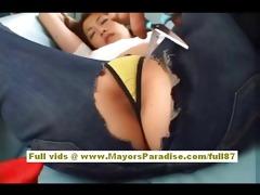 asami ogawa nice-looking oriental playgirl