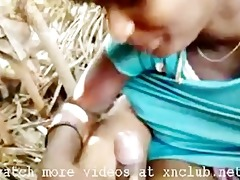 concupiscent indian balck aunty engulfing &
