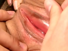 oriental bj honey stimulated with tongue and toys