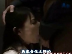 japanese schoolgirl gives favourable lad a