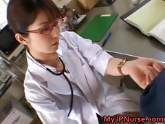 ann nanba enjoyable asian nurse