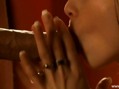 interracial oral-service from european d like to