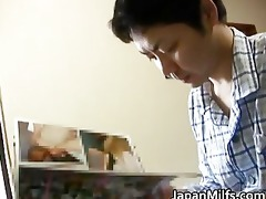 horny japanese milfs engulfing and fucking part5