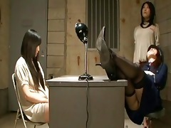 japanese lesbo domination at the prison