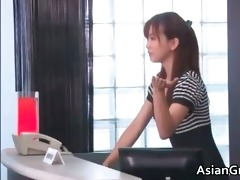 hawt and hot oriental secretary blows stiff part7