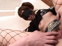 blindfolded hotty rika kurachi having a blast