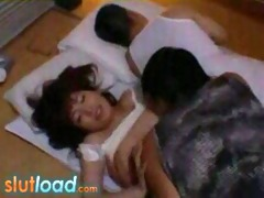 sexy japanese gal molested in sleep