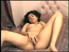 bushy indian cutie slit play