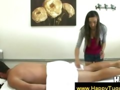 asian masseuse getting willing to wicked