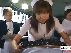 subtitled pov japanese nurses hospital blow job