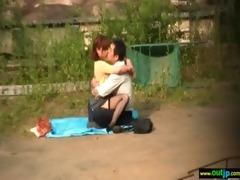 outdoor hawt asians receive hardcore sex clip-101