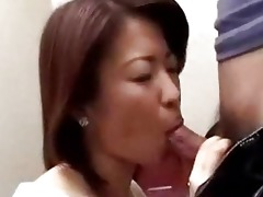 japanese mama caught guy masturbating in