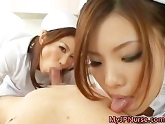 hot oriental nurses have a fun playing part9