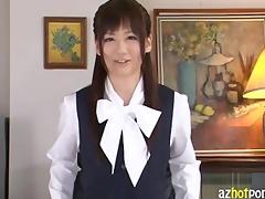 cute oriental beautys arousing upskirt and sex