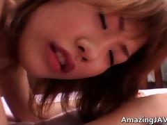 tiny japanese angel engulfing penis