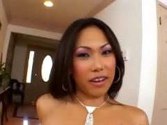 oriental princess brutally group-fucked on floor