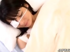 japanese cutie acquires facefucked by doctor in