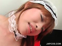 teenage asian maid receives hirsute slit vibed