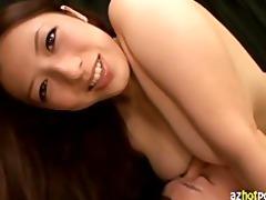 azhotporn.com - asian dominant-bitch titty