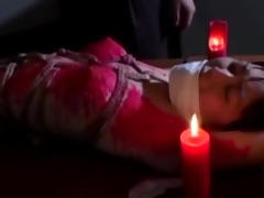 oriental youngster juicy in hawt candlewax