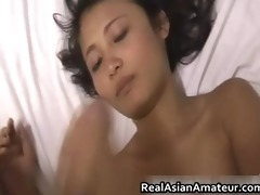 hotty oriental babe blows and acquires rammed