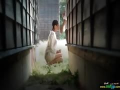 oriental sexy beauty love fucking outdoor vid-11